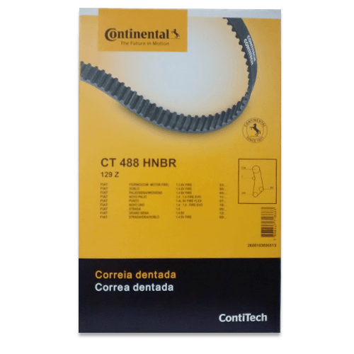 Correia Dentada Contitech CT488 - Doblo, Fiorino, Siena, Palio, Idea, Punto, Strada, Novo Uno