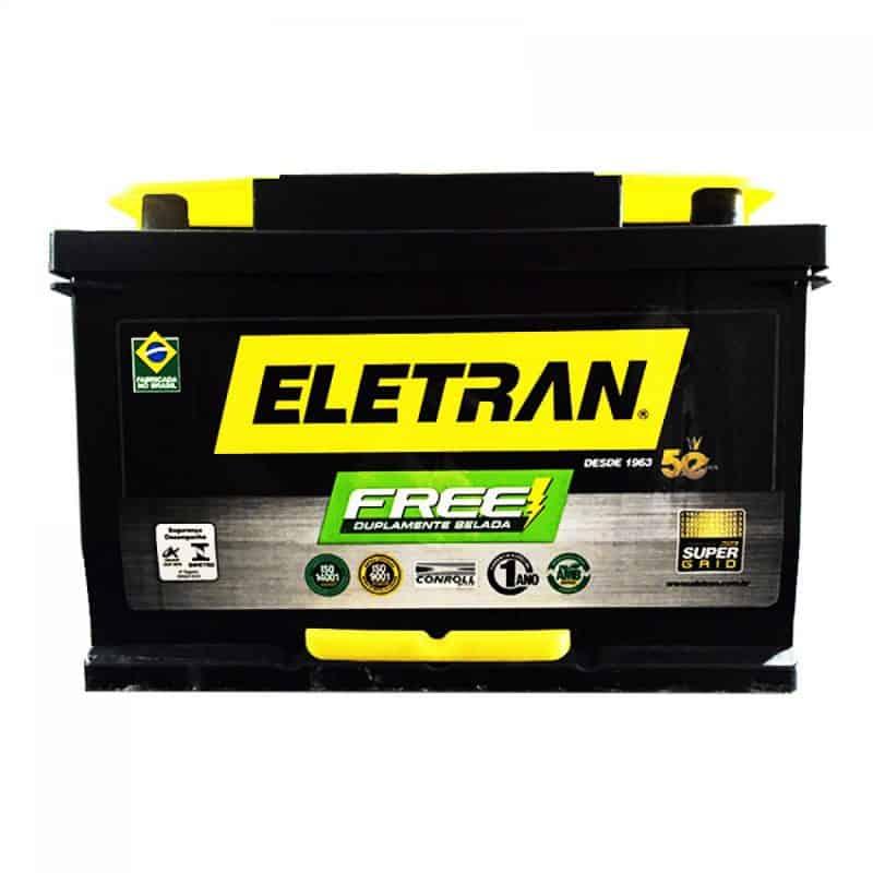 Bateria Automotiva Selada GE060PD Eletran 60 Am direita