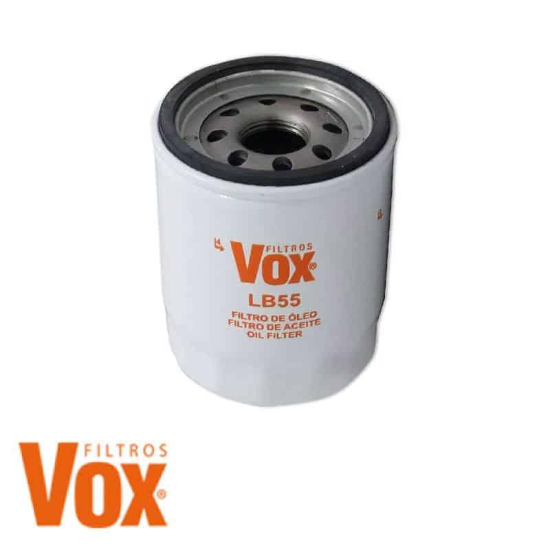 Filtro de óleo Vox LB55 - Fiat, Nissan, Honda, Mazda, Mitsubishi, Renault, Volkswagen, Kia